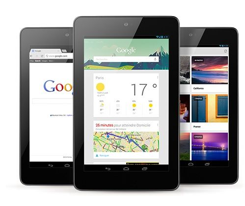 "La Nexus 7, tablette 7"" sortie en septembre 2012"