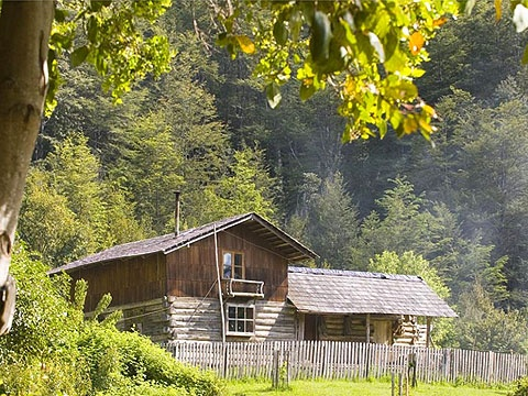 how to live in a remote cabin