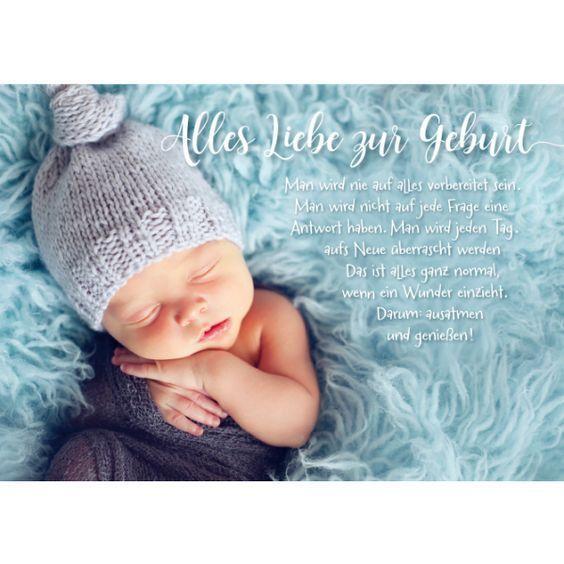 Alles Liebe zur Geburt/Bild1