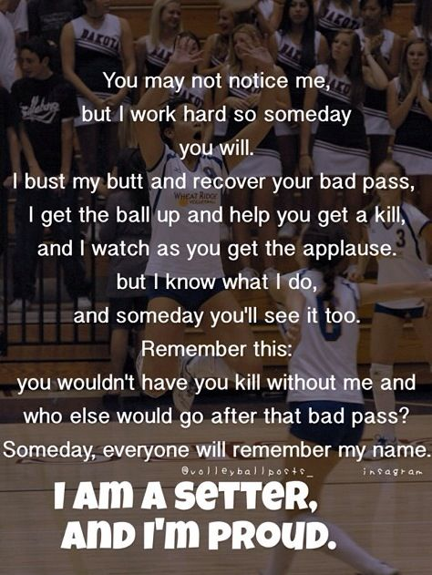 I am for real a setter! This be the truth