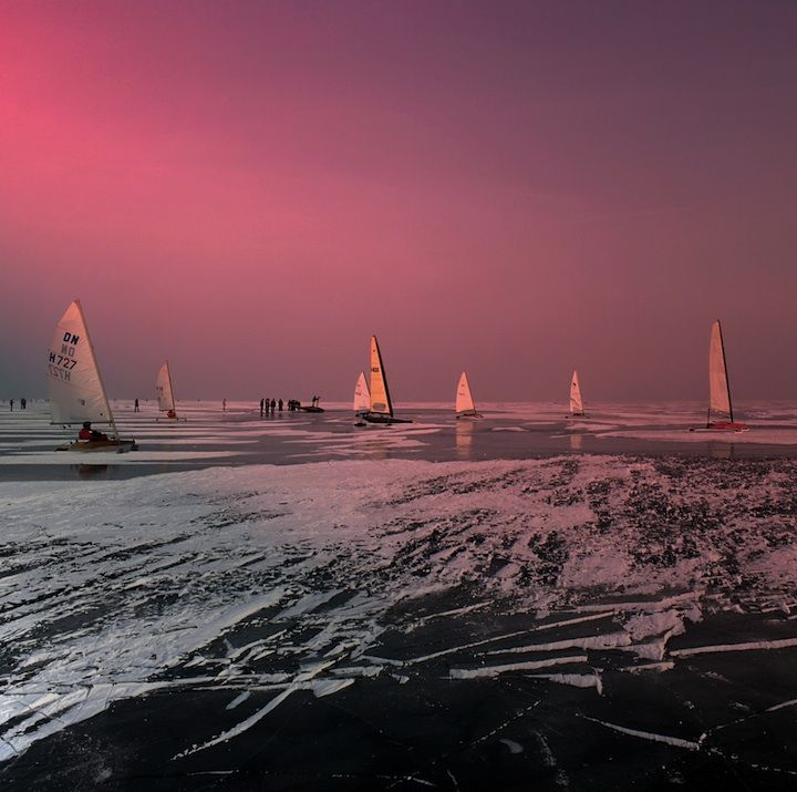 Rare Winter Sports on Netherland's Natural Ice