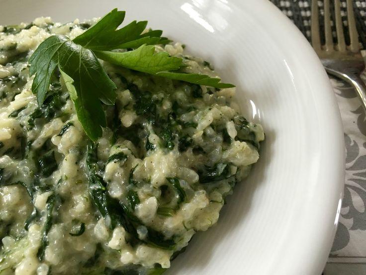 ❤️ Lust auf Lecker : Spinat-Gorgonzola-Risotto
