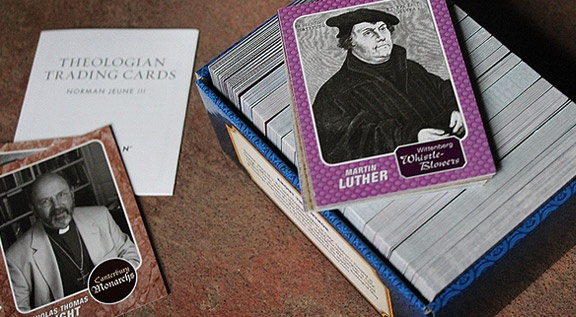 Theologian Trading Cards...this is EPIC!