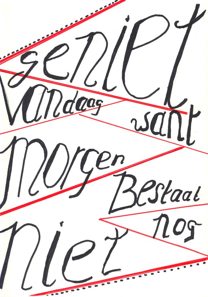 Gemaakt tijdens de workshop Handletteren Basis bij Sterrig.