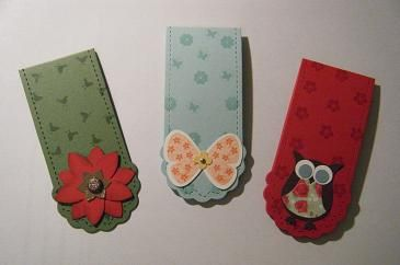 stampin up bookmark ideas | Independent Stampin' Up! Demonstrator - The Crafty Bug: Christmas ...