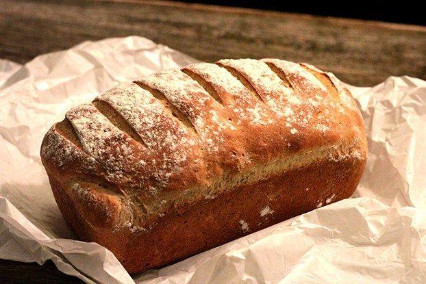 Pão integral de laranja com iogurte, aromático e delicioso