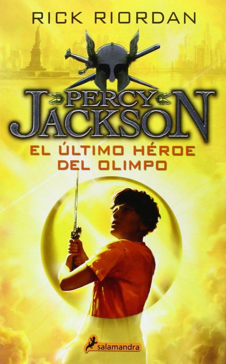 Percy Jackson. El Último Héroe del Olimpo.