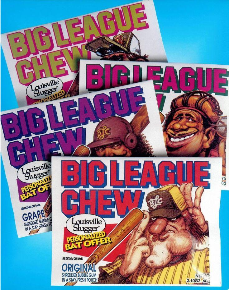 * Big League Chew Bubble Gum *
