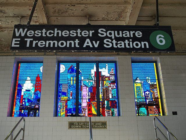 MTA Subway - Westchester Square/E Tremont Ave (6) in Bronx, NY