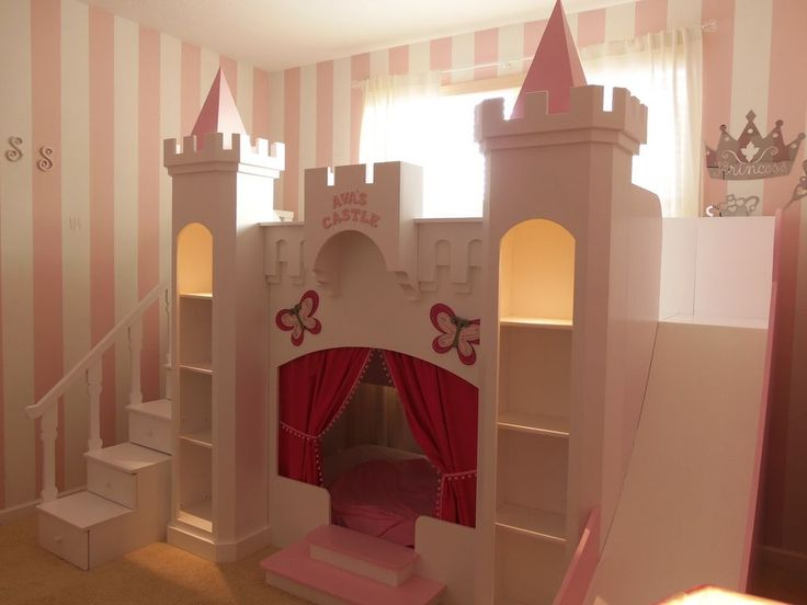 New Ava S Custom Princess Castle Loft Bed In 2019 Step