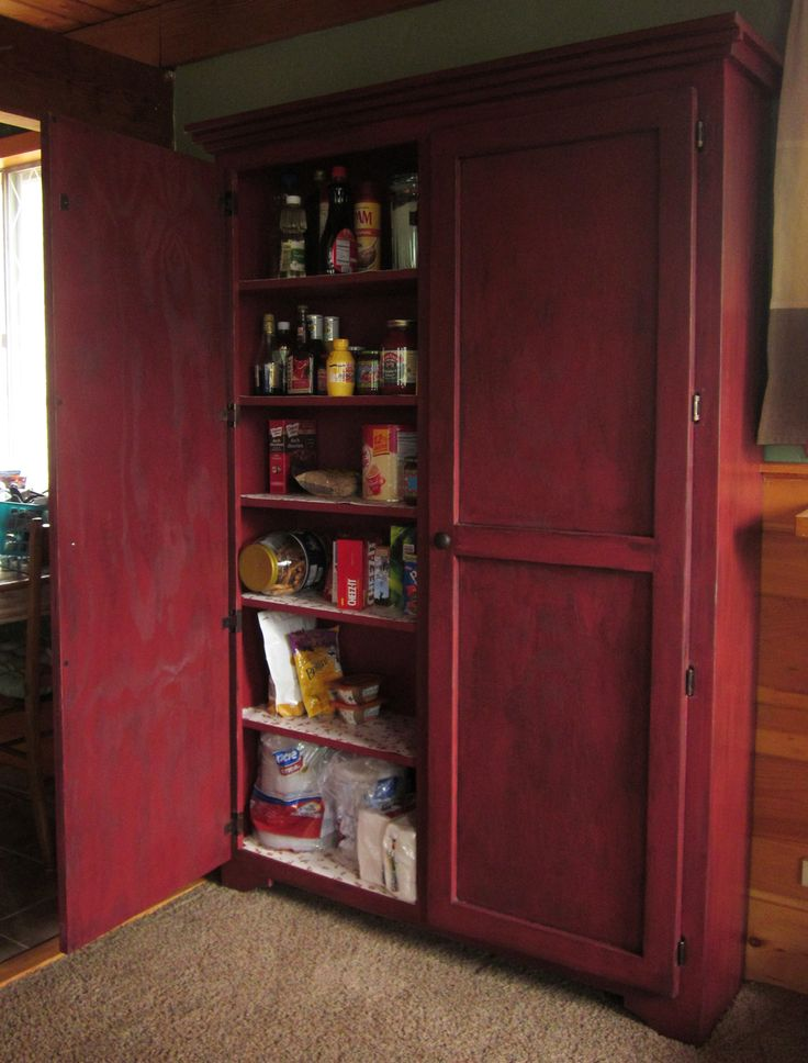 Kitchen pantry woodworking plans projects