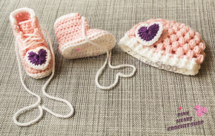 https://flic.kr/p/NhpfNC | Crochet baby Beanie and boots set , New , Handmade | This little Baby Booties and beanie are made by order for your little angels available in different sizes and colours  you can customise your items    please visit my Etsy shop  page for more informations  www.etsy.com/ca/shop/PinkHeartCrochetShoP?ref=hdr_shop_menu