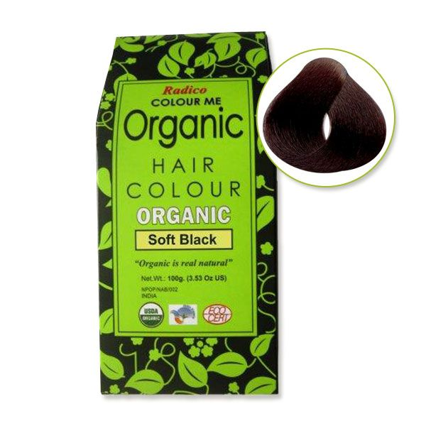 Colour Me Organic Hair Colour by Radico. An organic hair colour dye, which is a perfect blend of rare hair treatment herbs without any chemicals.