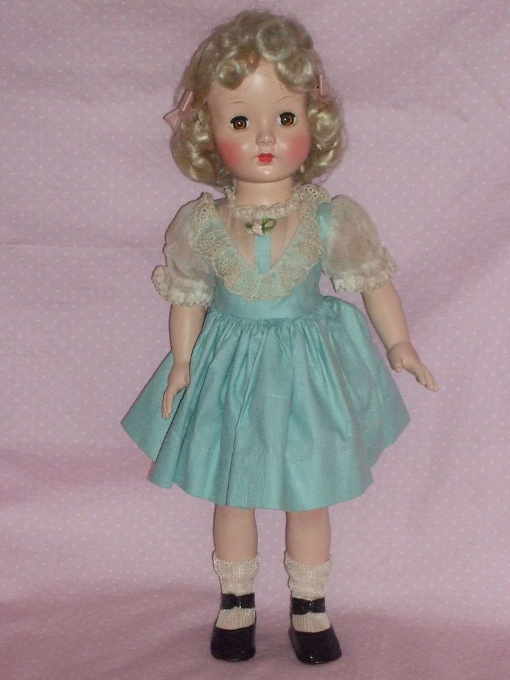 "mint effanbee doll 1950s | c1950's 16"" Effanbee HONEY Doll -All Original and near Mint Condition"