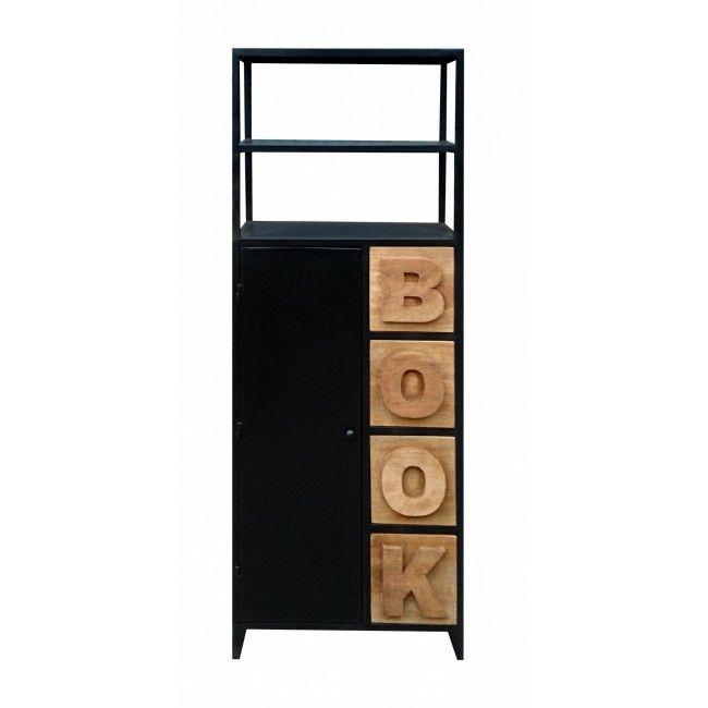 BOOK книжный шкаф в индустриальном стиле - Индустриальная коллекция Loft Art