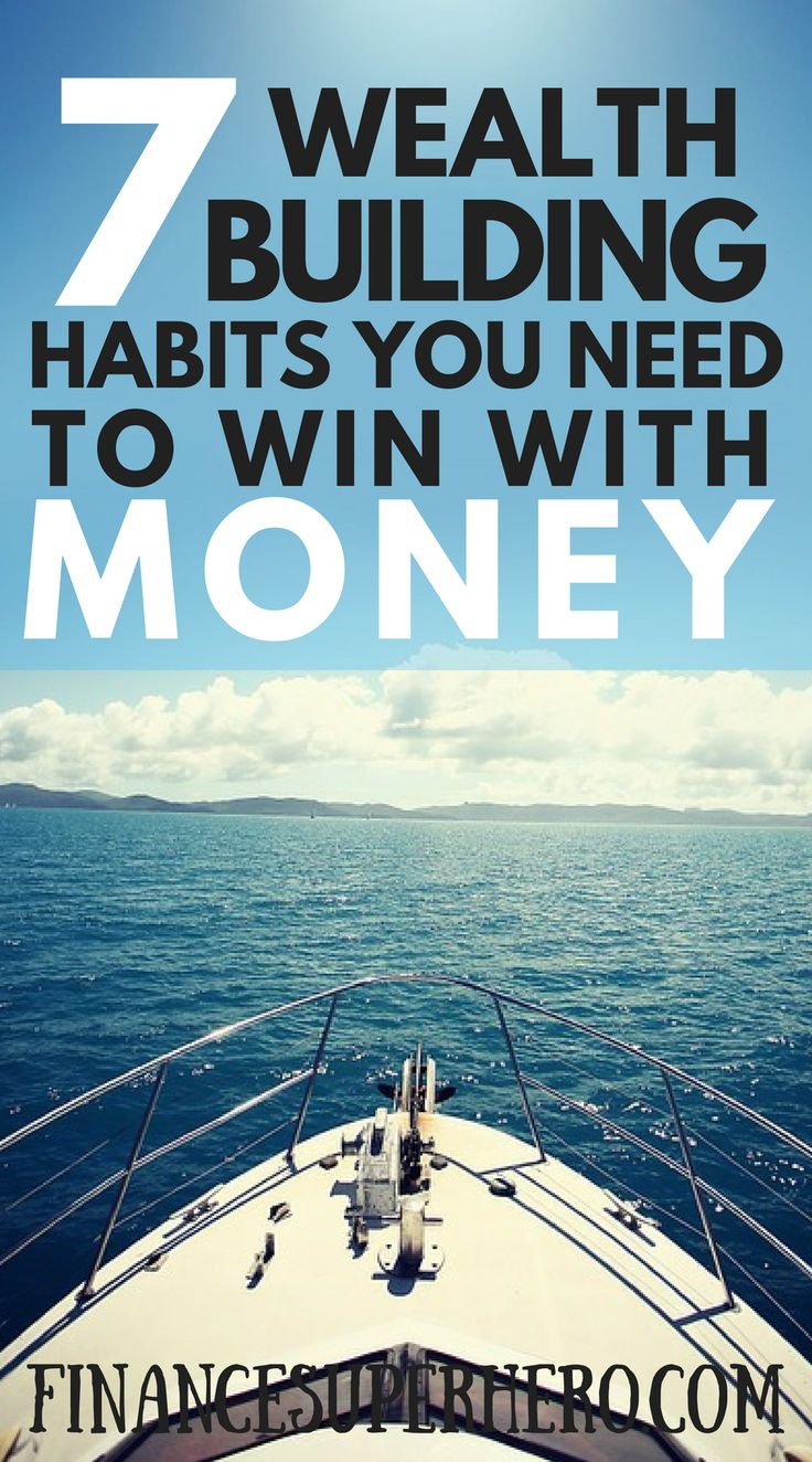 habits of the rich | how to get rich | habits of the wealthy | build wealth | millionaire habits | millionaire next door | good money habits | money tips