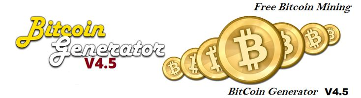 BITCOIN GENERATOR V4.5 GET FREE BTC #The_Downliner