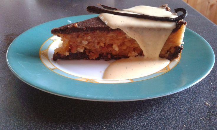 Smink&Cake: Nyers vegán almatorta