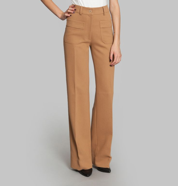 Pantalon Jane Sable Nathalie Dumeix en vente chez L'Exception