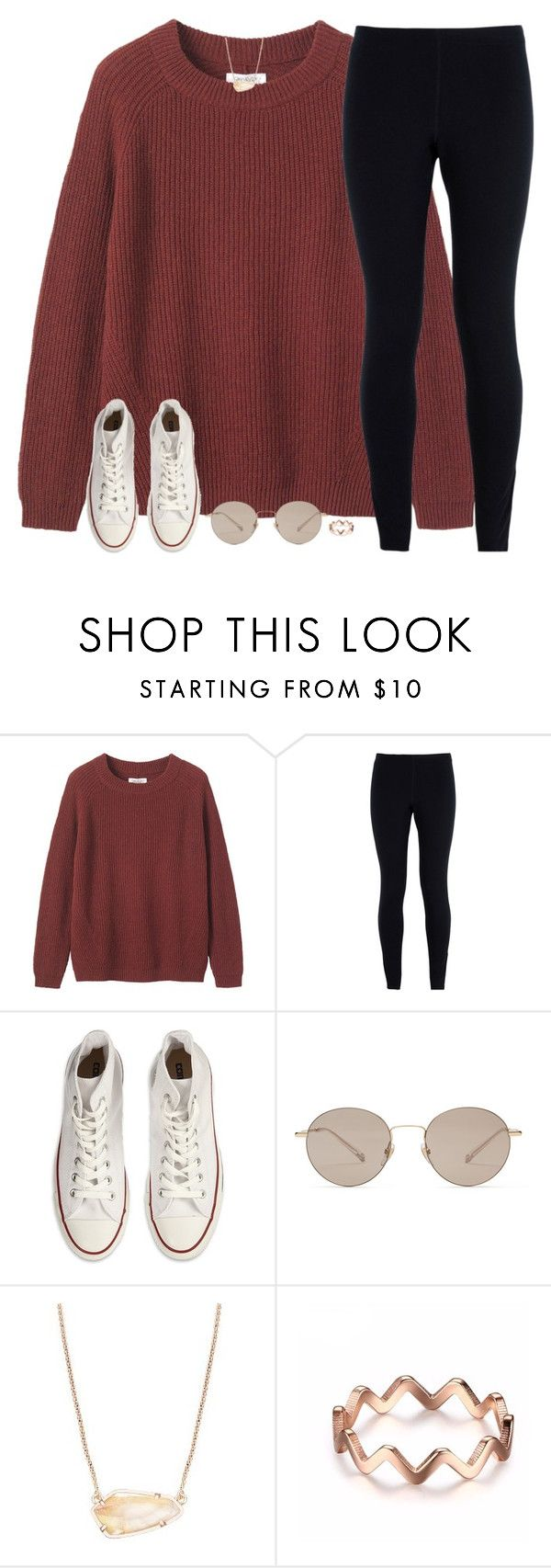 """""""I think your lacking a dose of Vitamin me☀️"""" by southernstruttin ❤ liked on Polyvore featuring Toast, NIKE, Converse, Gucci and Kendra Scott"""