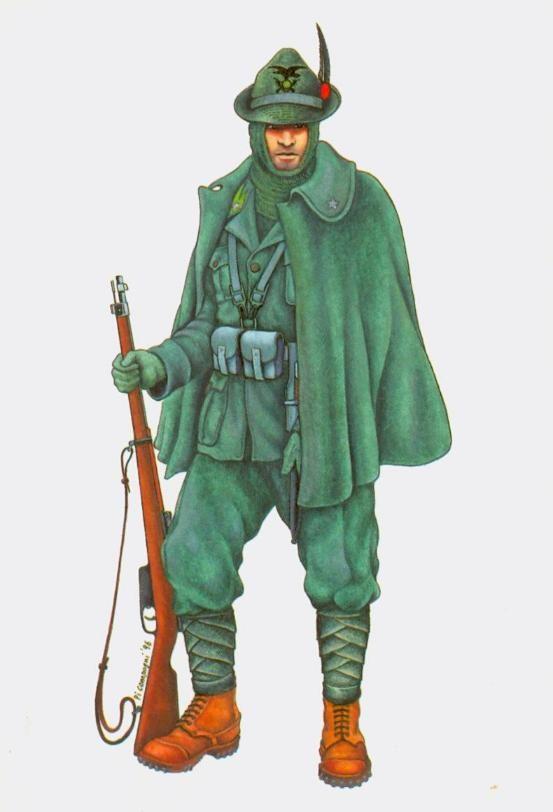 Regio Esercito - Alpino del 7° Reggimento, Divisione Julia, Grecia 1941