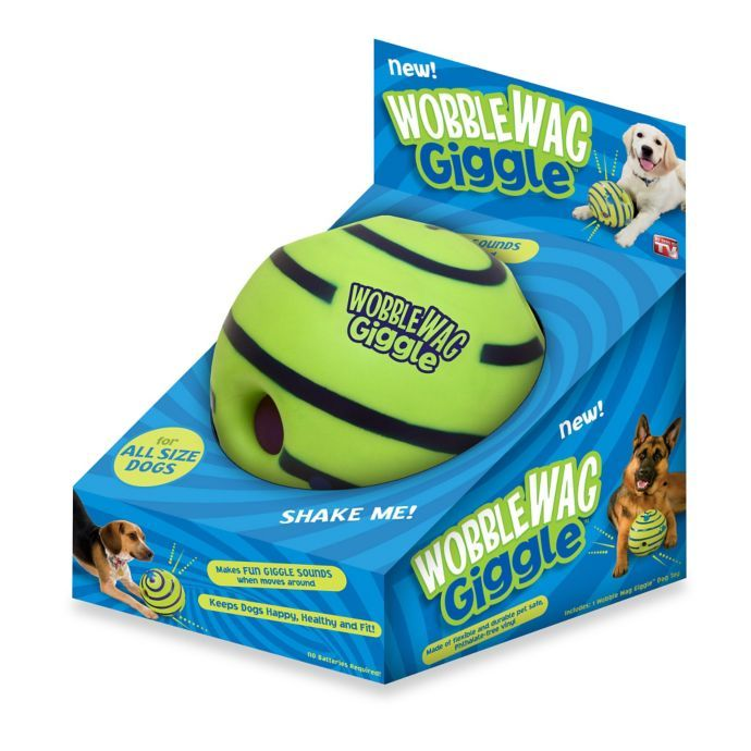 Wobble Wag Giggle Ball Dog Toy Bed Bath Beyond Dog Toys