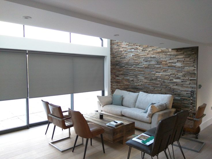 Roller Blinds For Double Height Living Room | Blinds Installed To Floor To  Ceiling Windows | Part 55