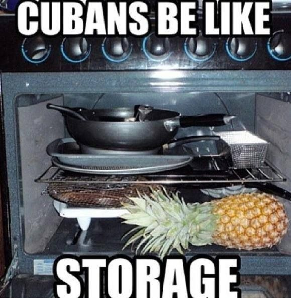 I knew there was cuban in my blood!