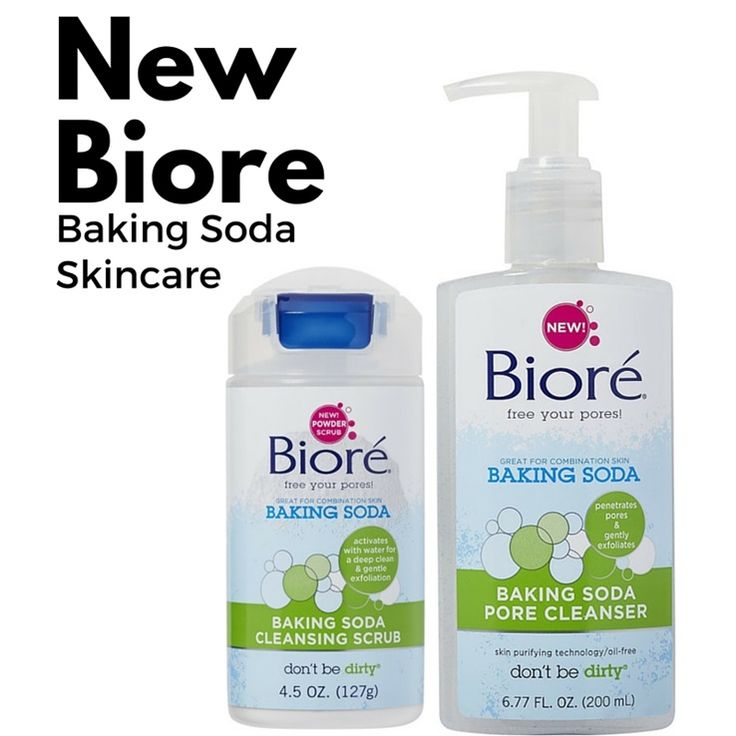 Biore Baking Soda Skincare for Spring 2016 | http://www.musingsofamuse.com/2016/01/biore-baking-soda-skincare-for-spring-2016.html
