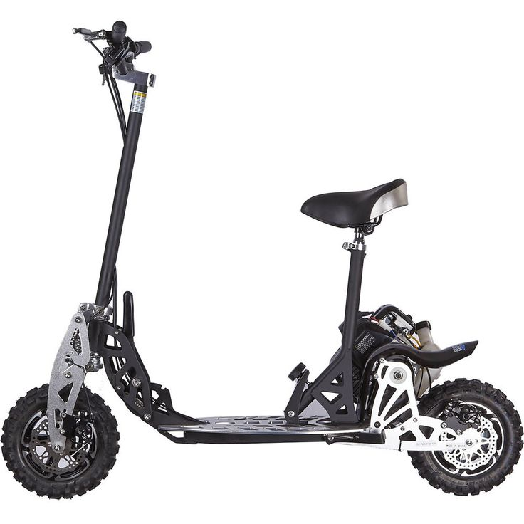 UberScoot 2x Big 50cc Powerboard Gas Scooter W/Seat - The UberScoot 2x is sure to cut through the clutter of cheap gas powered scooters. It comes with the superior range of UberScoot Powerboards from the famous Puzey design.