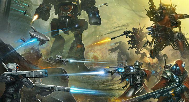Astra Militarum (Imperial Guard, ig) :: Imperium :: Warhammer 40000 :: сообщество фанатов / красивые картинки и арты, гифки, прикольные комиксы, интересные статьи по теме.