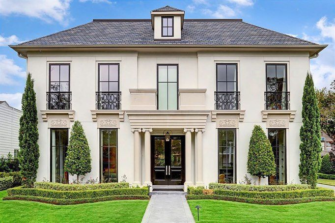 This French Contemporary Is The Epitome Of Refined Elegance Designed By Jd Bartell Designs For Al Rental Homes Near Me Renting A House Rent To Own Homes