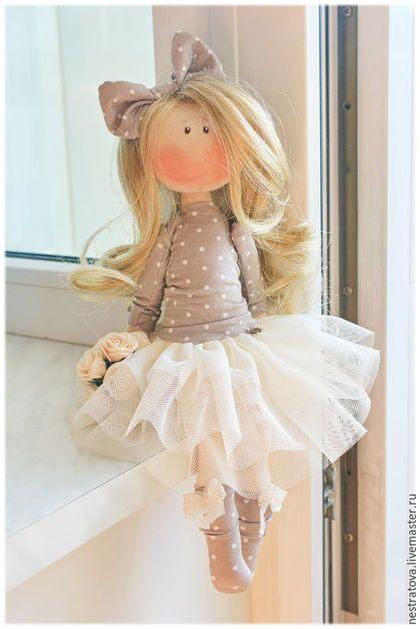 Коллекционные куклы ручной работы. Заказать Валенсия. Интерьерная кукла.. Олеся. Ярмарка Мастеров. Кукла, подарок женщине, хлопок