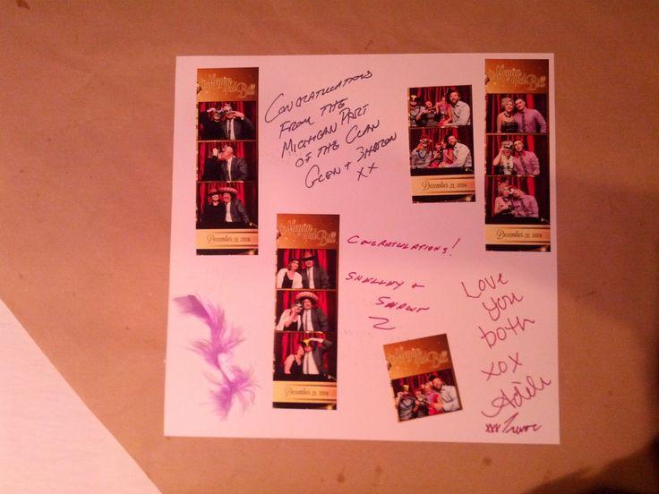 Custom memory book along with Photobooth www.zattuphotobooth.ca