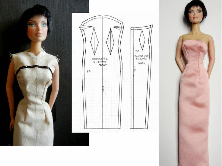 Fashion Doll Stylist: Red Carpet Ready: Variations of the Sheath