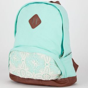 mint green backpack - Google Search