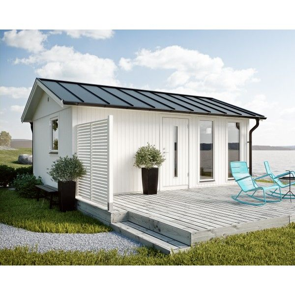 JABO Flex modul Hytte 25 m² Basissæt