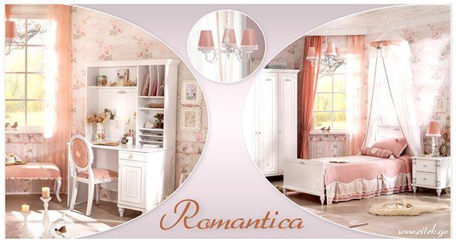 52940938434 Ένα ρομαντικό δωμάτιο για να χαλαρώνεις μετά το διάβασμα Παιδικό δωμάτιο  Romantica δείτε το στο www