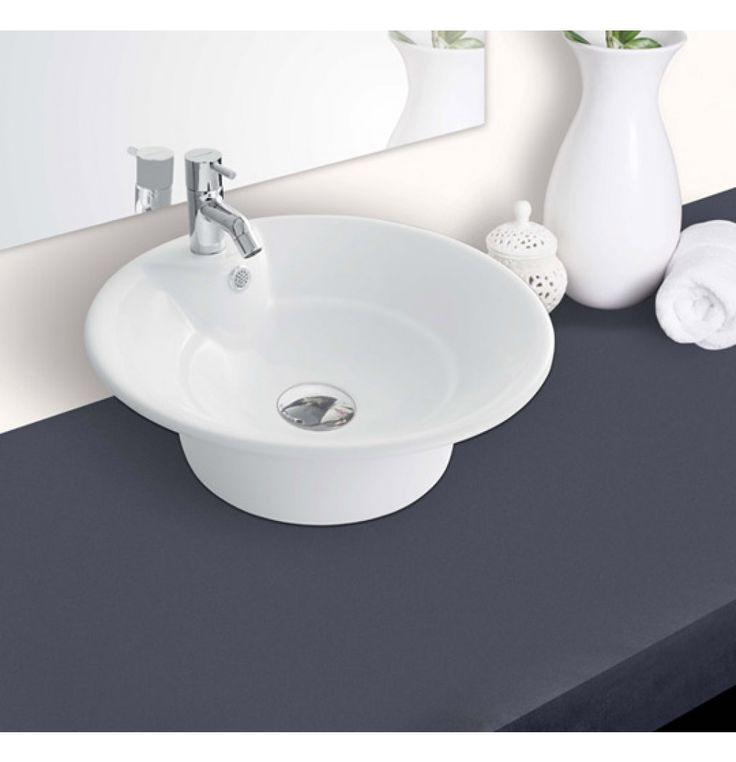Hindware Orchid Over Counter Basin (Colors available) (91072)