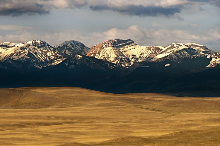Great Falls Montana.  Now here is a great shot of the mountains and rolling hills.