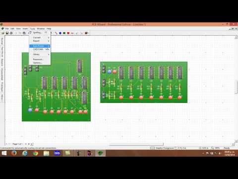 Programas para crear circuitos electrónicos impresos [PCB] [Método Avanzado] [TUTORIAL] - YouTube