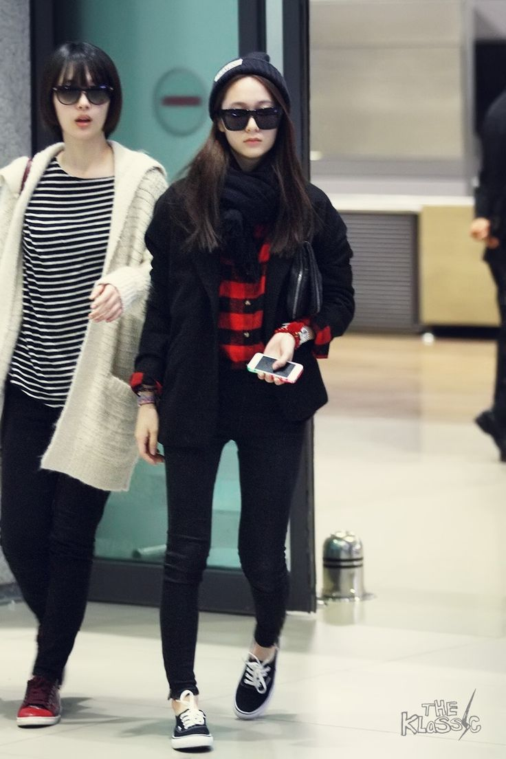 19 Best Images On Pinterest Krystal Jung Kpop And Airport Fashion
