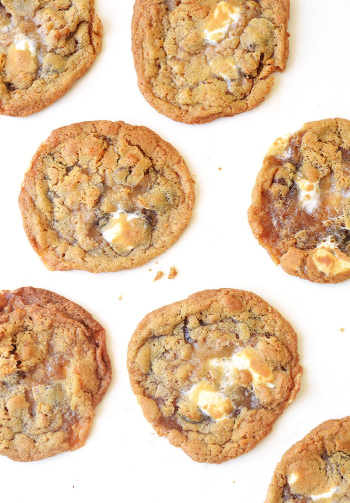 Chewy Cornflake Marshmallow Cookies that are easy to make at home | Sweetest Menu