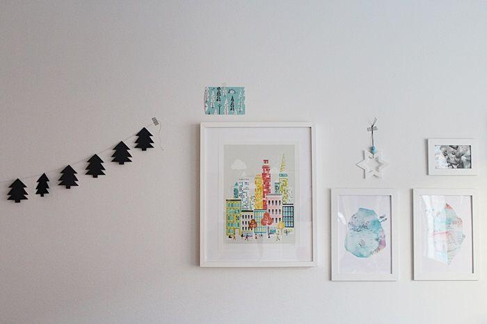 Simple Christmas ornaments / Scandinavian Christmas / Kotisaari blog
