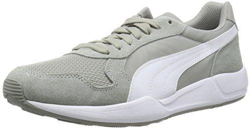 Puma ST Runner Plus, Unisex-Erwachsene Sneakers, Grau (limestone gray-white-gold 03), 42 EU (8 Erwachsene UK) - http://on-line-kaufen.de/puma/42-eu-puma-unisex-erwachsene-st-runner-plus-2