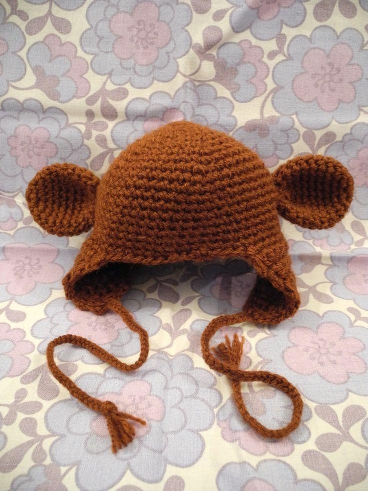 Denne hue er netop kommet hjem at bo hos en helt speciel lille bebs. Det var meningen, at det skulle være en bjørnehue, men modtagerne...