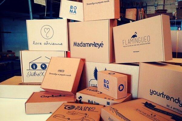 cajas de carton para tiendas online