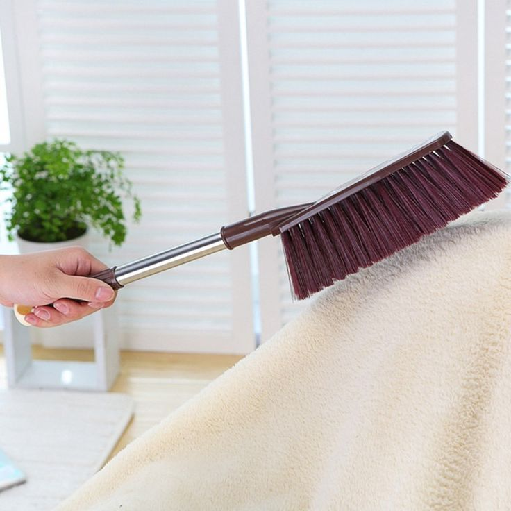 New Dusting Brush Home Duster Bed Sofa Clothes Dust Hair Wipe Clean Tools Random
