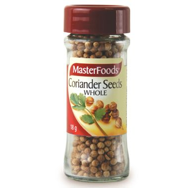 Corriander Seeds Whole – Masterfoods 25g | Shop Australia
