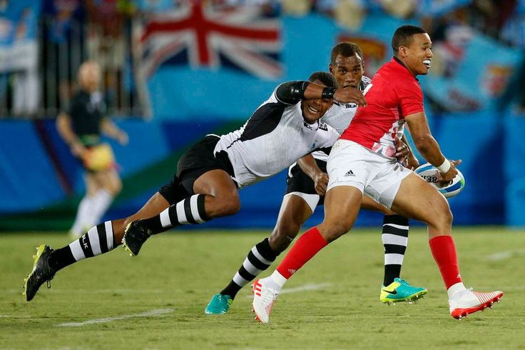 Rio Olympics: Fiji vs. Great Britain men's rugby final pictures ...